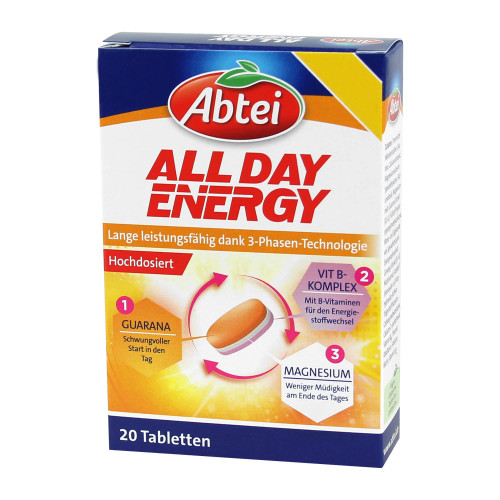Abtei All Day Energy Tabletten